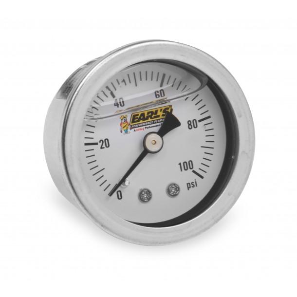 100 PSI Fuel Pressure Gauge