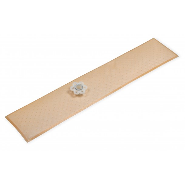 15 Inch x 3 Inch HydraMat, Rectangle, 11mm Inlet (Straight)