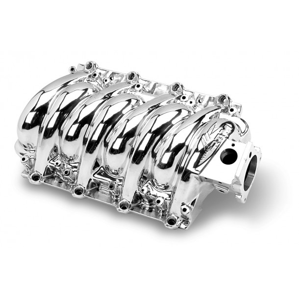 Weiand LS Series Intake Manifold Polished Finish)