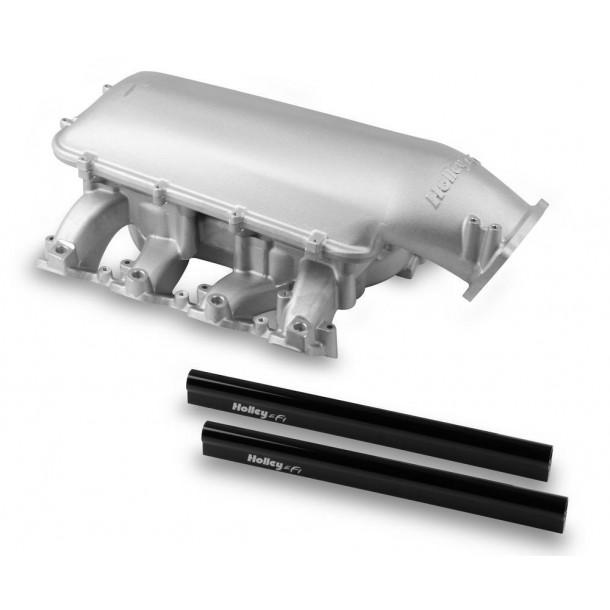 Mid-Rise Intake, GM LS3/L92, 92mm Throttle Body Flange, Aluminum