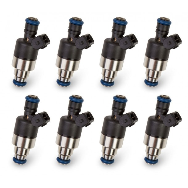 Fuel Injector (Qty 8), Low Impedance, 160 lb/hr