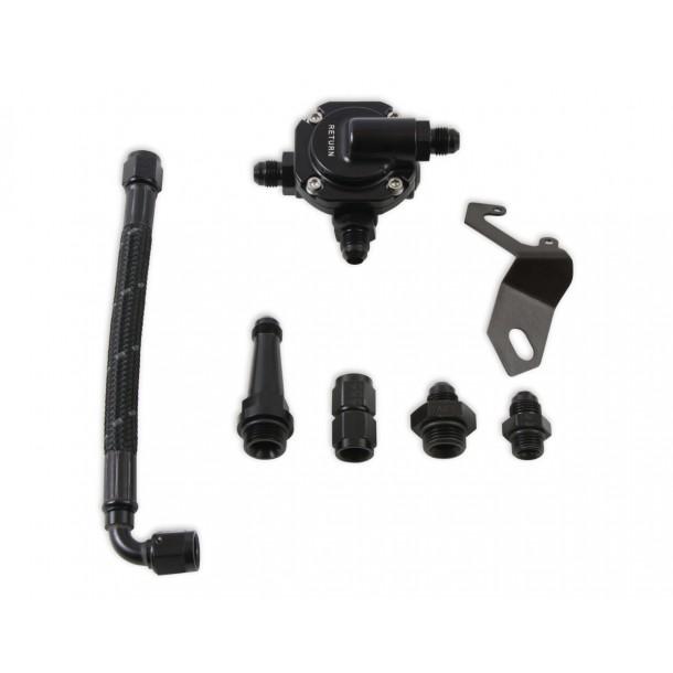 Crossover Hose Kit w/Regulator for Stealth Throttle Body (Braided)