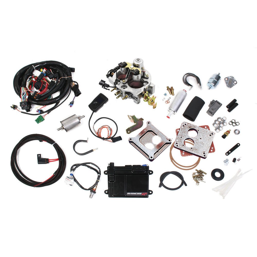 Holley 550 200 Avenger Tbi System Ships Free At Wiring Diagram 19 2 Bbl Efi Kit 670 Cfm Up To 275 Hp