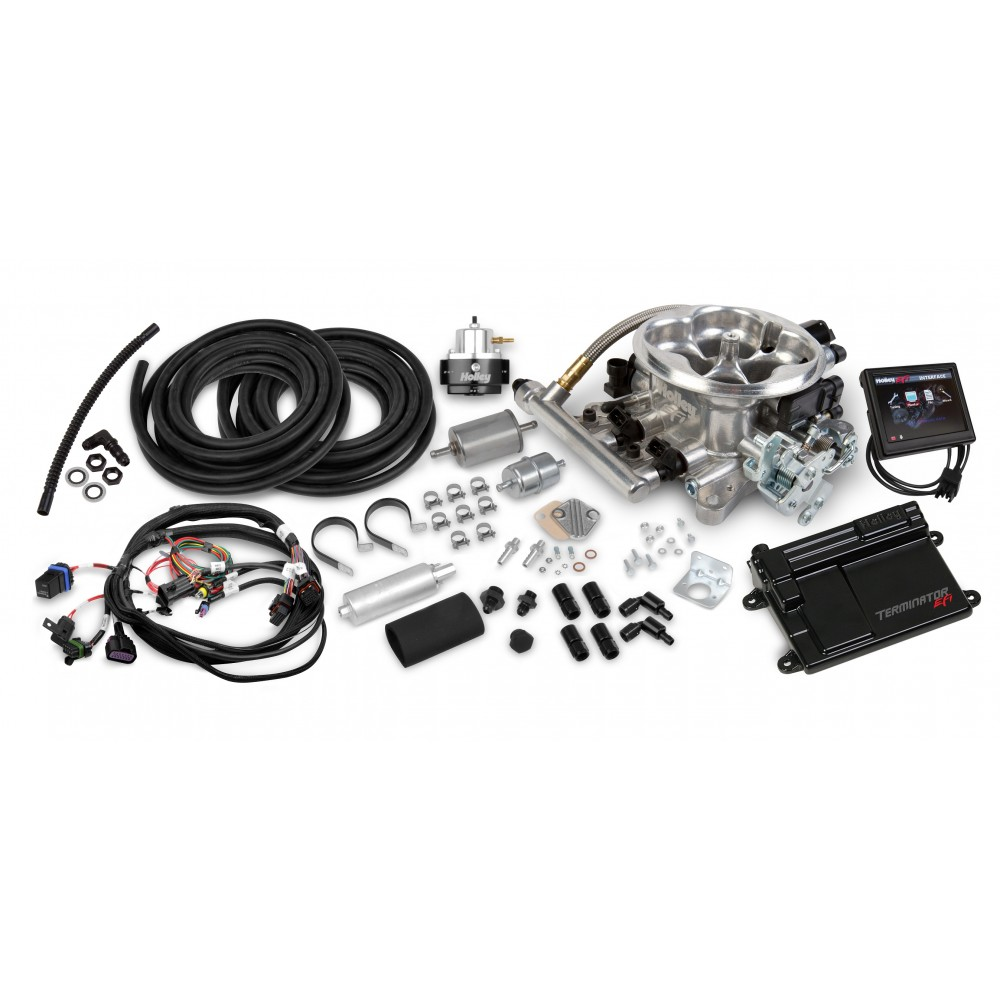 Terminator Universal Throttle Body System Master Kit, Polished