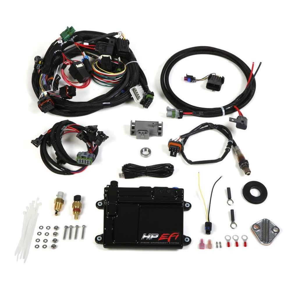 Holley 550 601 Hp Ecu Harness Ships Free At Bosch Wire 19 And Kit Gm Tpi Stealth Ram With Sensor