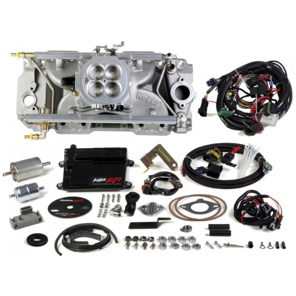 HP Multi-Point EFI Kit, Big Block Chevy, Standard Deck, 1000 CFM, Oval Port Heads