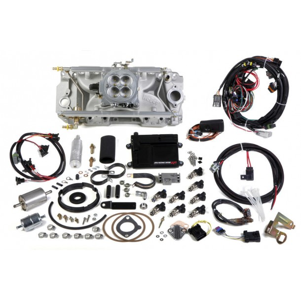 Avenger Multi-Point EFI Kit, Big Block Chevy, Standard Deck, 1000 CFM, Oval Port Heads