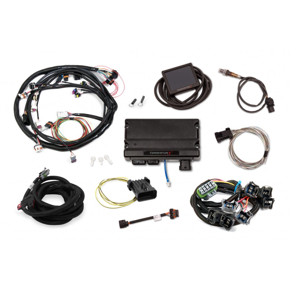 ford 302 wiring harness standalone holley terminator x mpfi kit for ford v8 302  windsor   big block  holley terminator x mpfi kit for ford