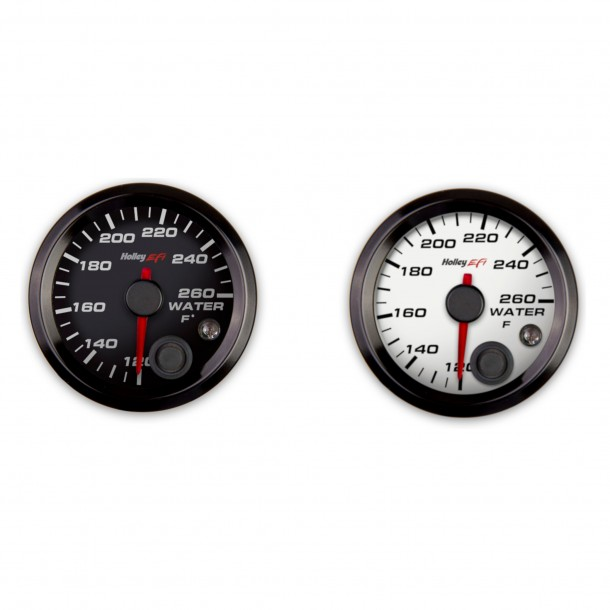 2-1/16 Inch Coolant Temp Gauge, 120-260°F, Analog Display