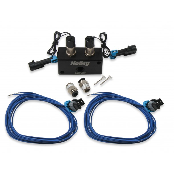 High-Flow Dual Solenoid Boost Control Kit
