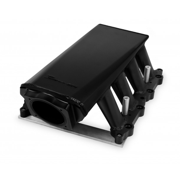 Sniper Hi-Ram Intake, Ford Coyote 5.0, 90mm Throttle Body, Black Anodized