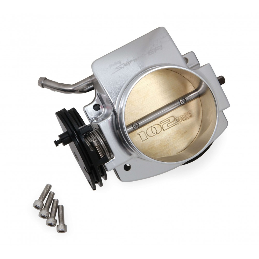 Fuel Injector Cost >> Holley Sniper 860002-1 GM LS Throttle Body | Ships Free at EFISystemPro.Com | 102mm Aluminum ...