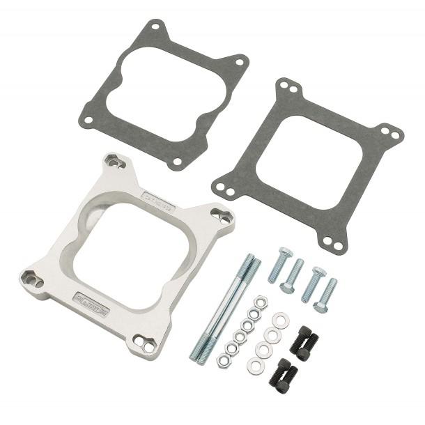 Square Bore 4150/4160 Throttle Body to Spread Bore Manifold Adapter