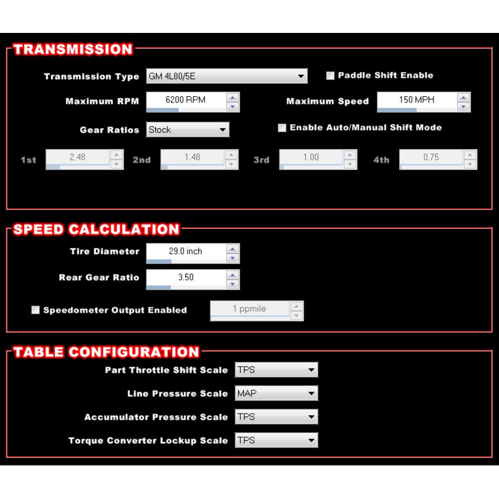 Holley 554-114 Dominator EFI and ECU System