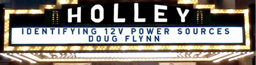 Holley Instructional Video: Identifying 12-volt Power Sources