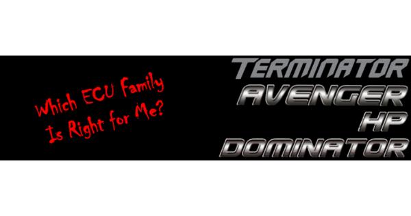 Choosing: Terminator, Avenger, HP or Dominator   Holley EFI