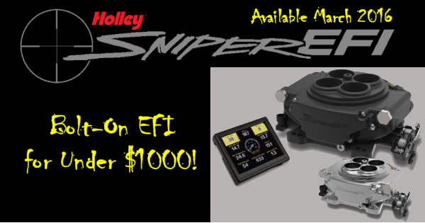 Holley Sniper EFI, Cost Effective, Easy to Install!