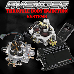Holley Avenger Throttle Body Injection Systems