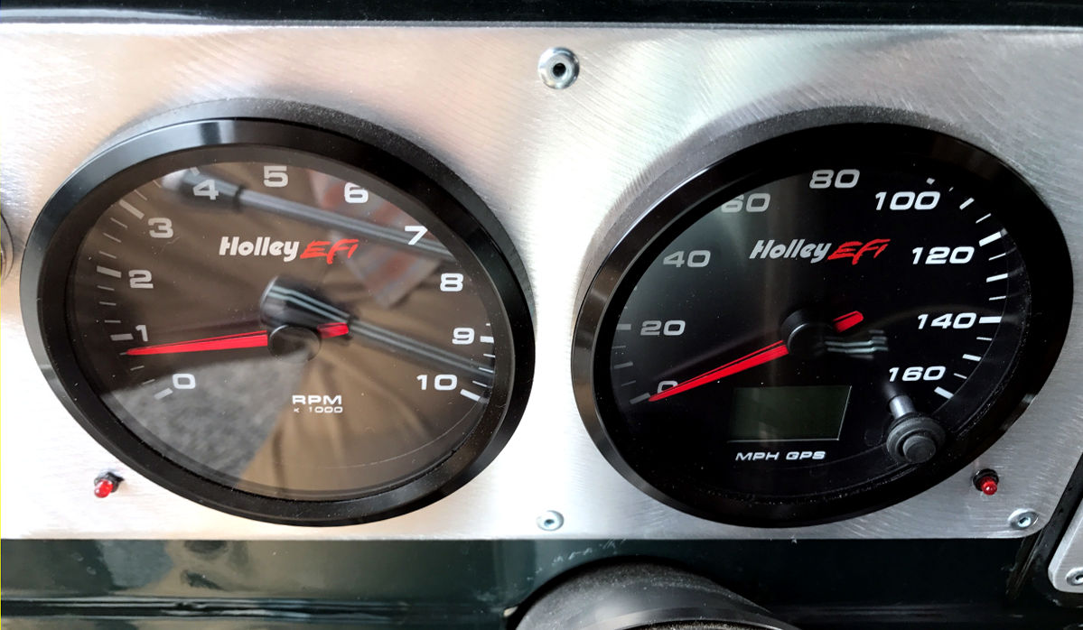 Customer Rides 37 Dodge Pickup With Sniper Efi Truck Speedometer Wiring Harness And Tachometer