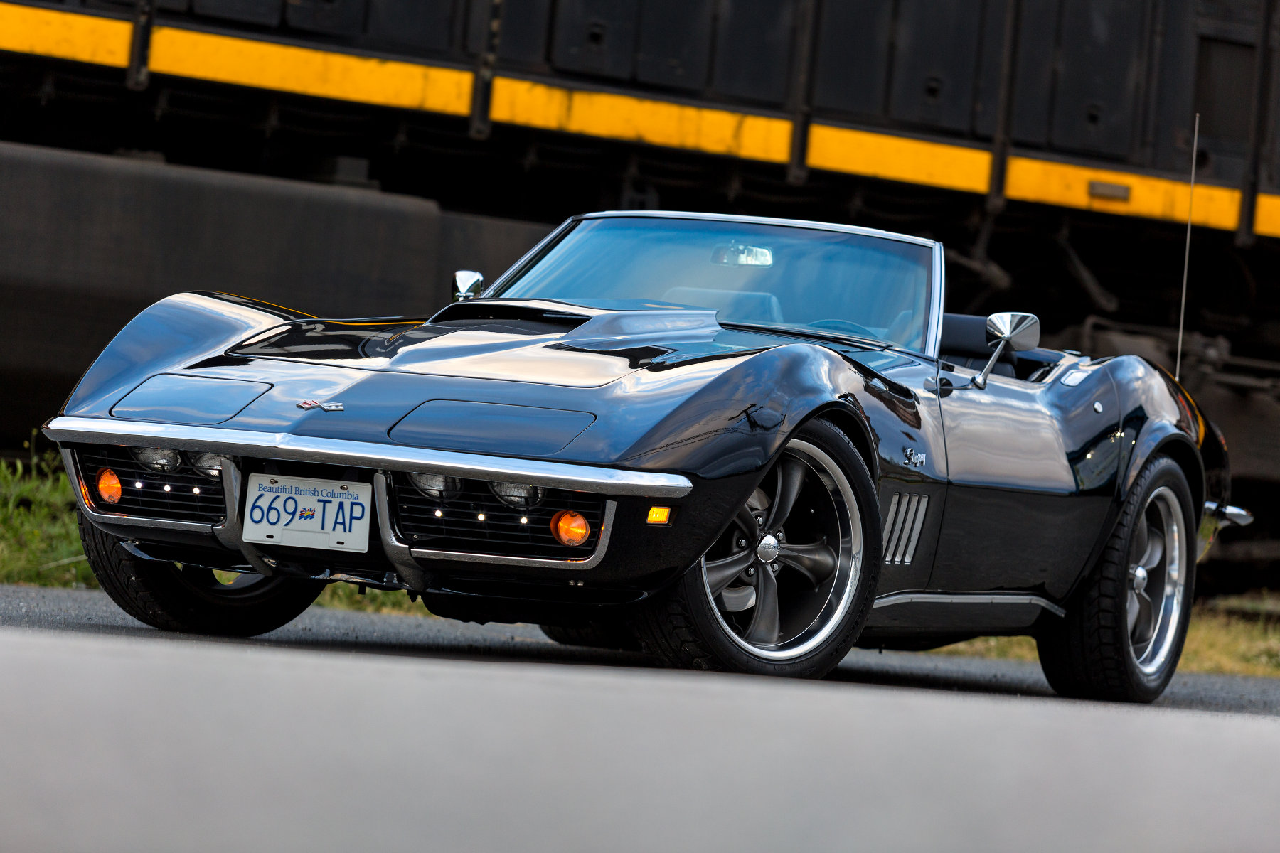 '69 Corvette Stingray Boxcar
