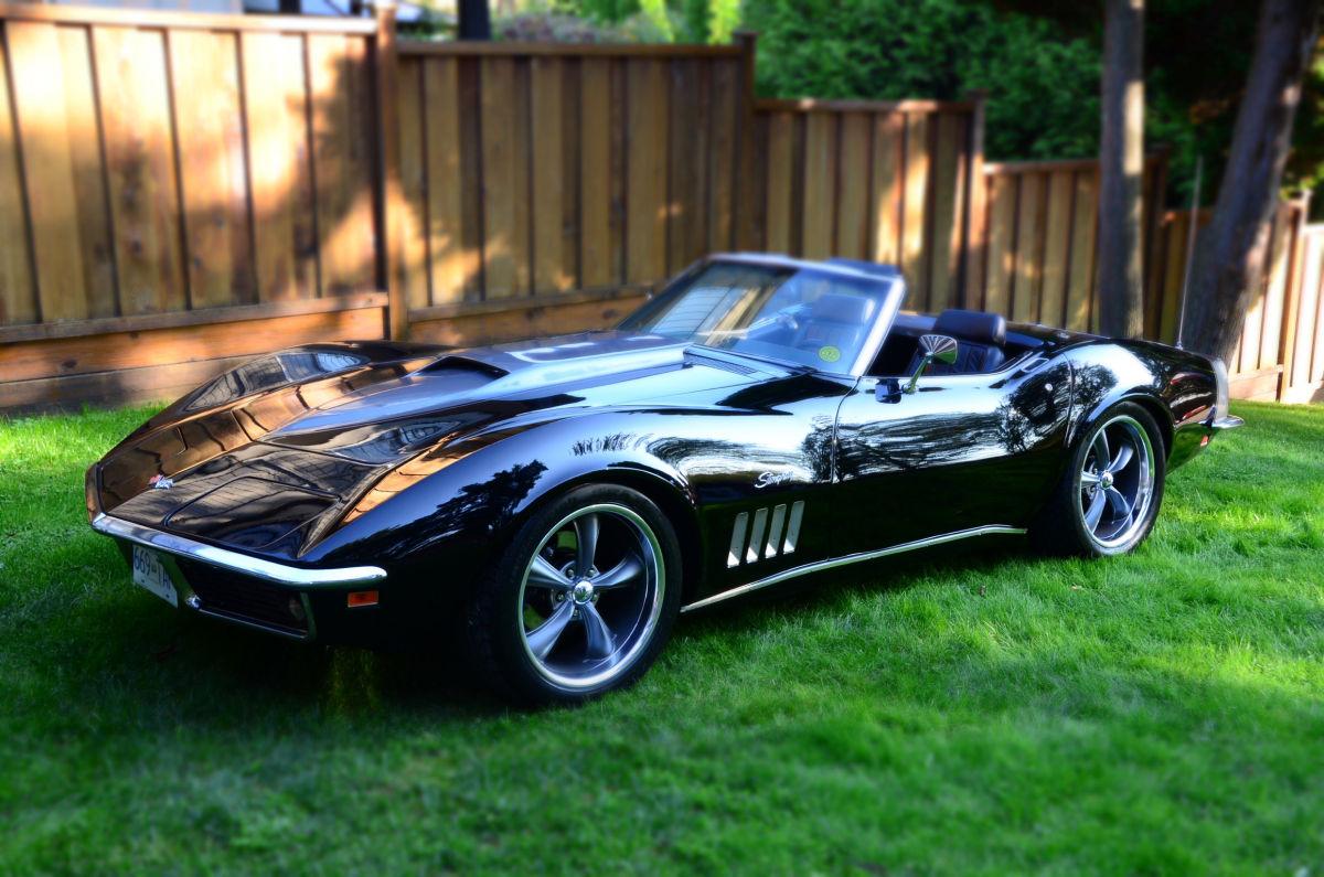 '69 Corvette Stingray On Lawn
