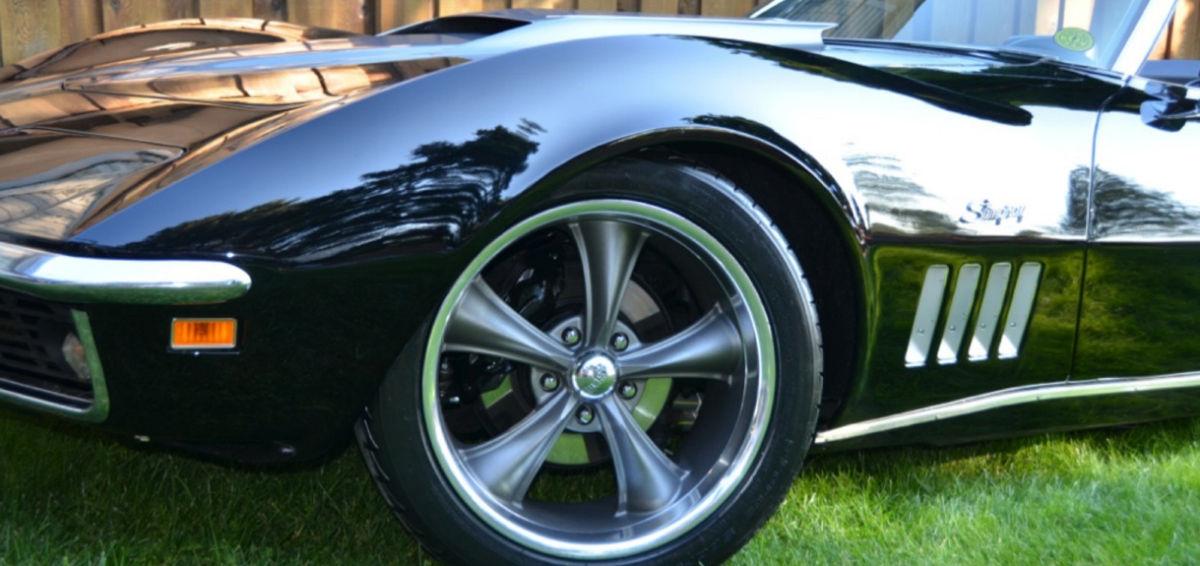 '69 Corvette Left-Front Quarter