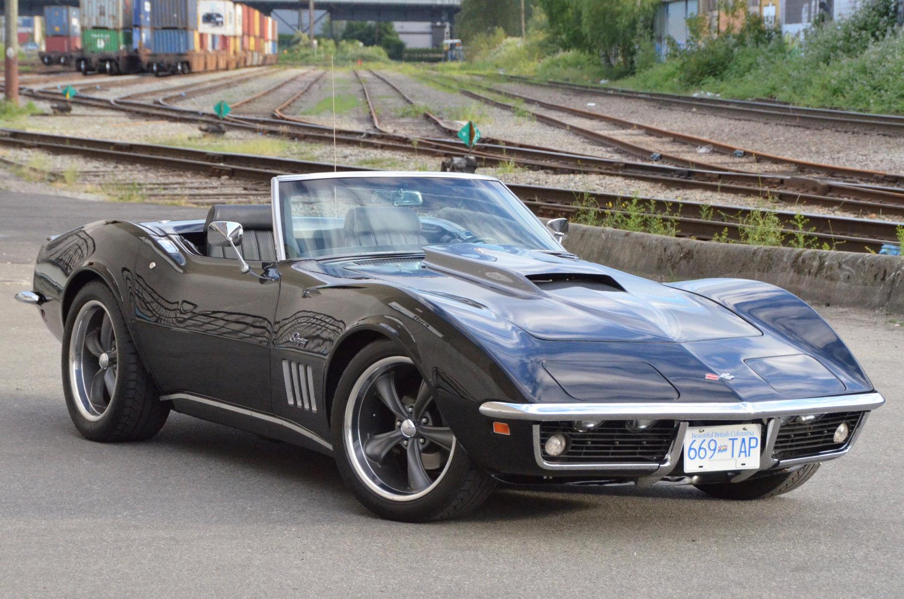 '69 Corvette Stingray Railroad Tracks