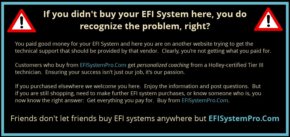 Holley sniper efi installation tips and tricks buy from efisystempro sniper cheapraybanclubmaster Images