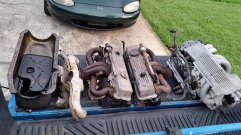 Unused Components from donor L98 Engine (85 Corvette)