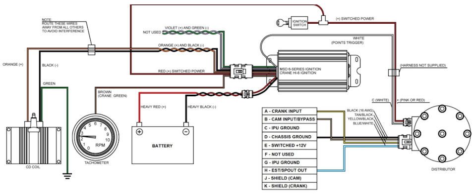 msd al wiring diagram hei ewiring need help wiring an msd 6al 2 ford a tfi harness msd ignition box wiring diagram