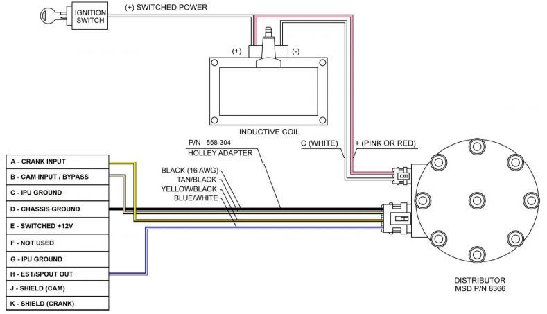 terminator wiring without msd box msd street fire wiring diagram & photo 5520_0006 jpg\