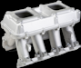 GM LS3 and L92 High-Ram Twin Square-Flange Intake Manifolds