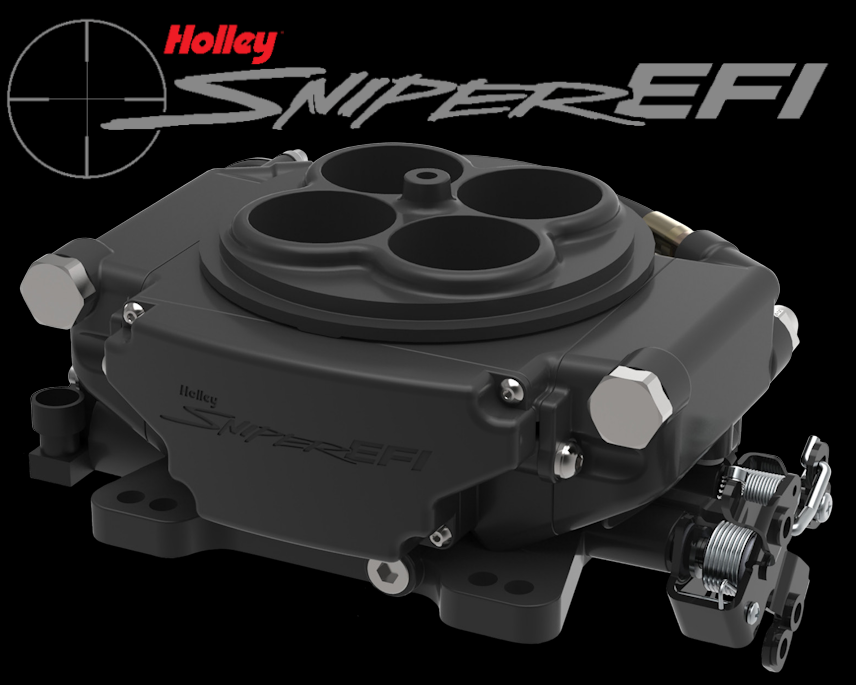 Holley Sniper EFI System in Hardcore Gray