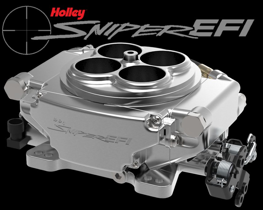Holley Sniper EFI System with Shiny Finish